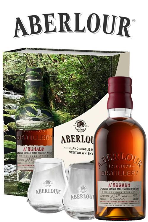 Aberlour a´bunadh Batch 69 Geschenset