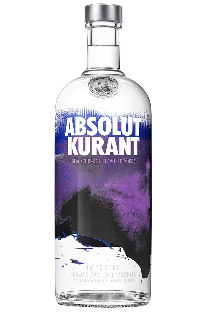 Absolut Kurant Vodka - 1 Liter