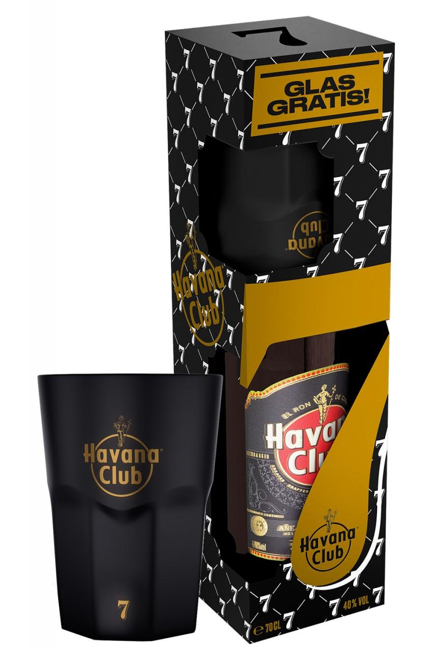 Havana Club 7 Jahre exklusiven Rum Glas