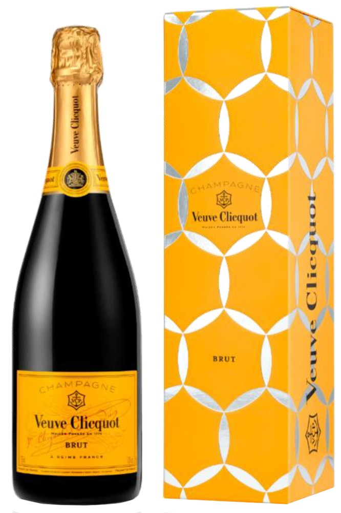 Veuve Clicquot Yellow Label in Geschenkbox
