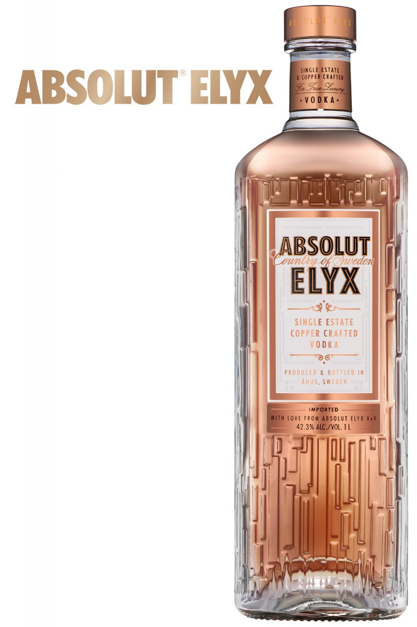 Absolut Elyx Vodka 42,3% Vol. - 1 Liter