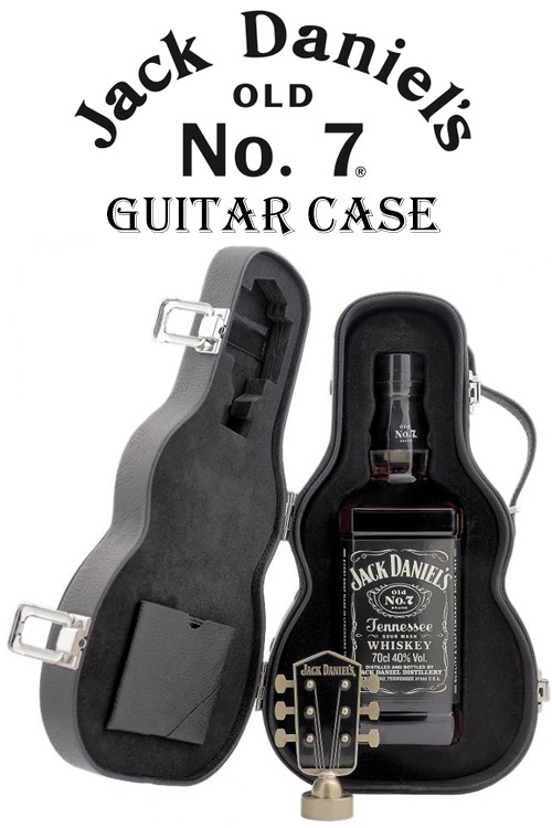 Jack Daniels Guitar Case - Limited Edition