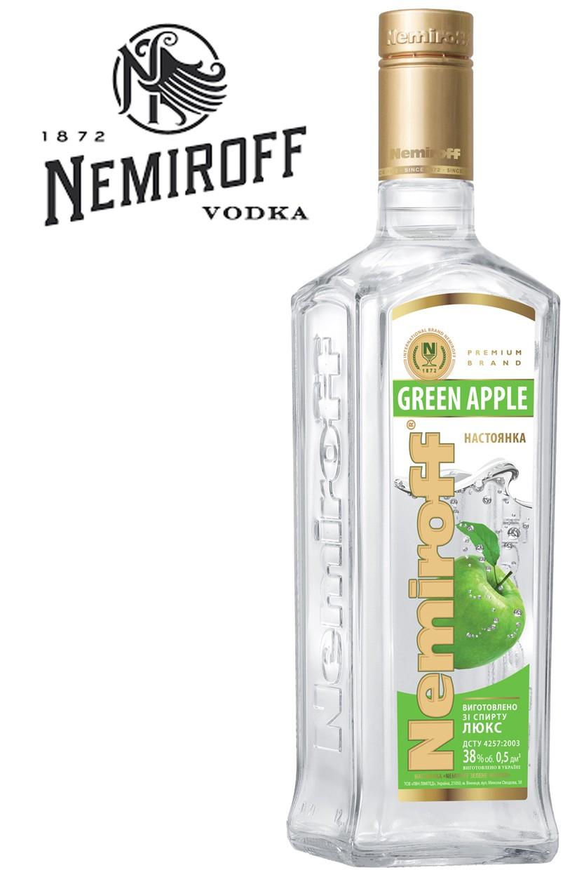 Nemiroff Green Apple Vodka