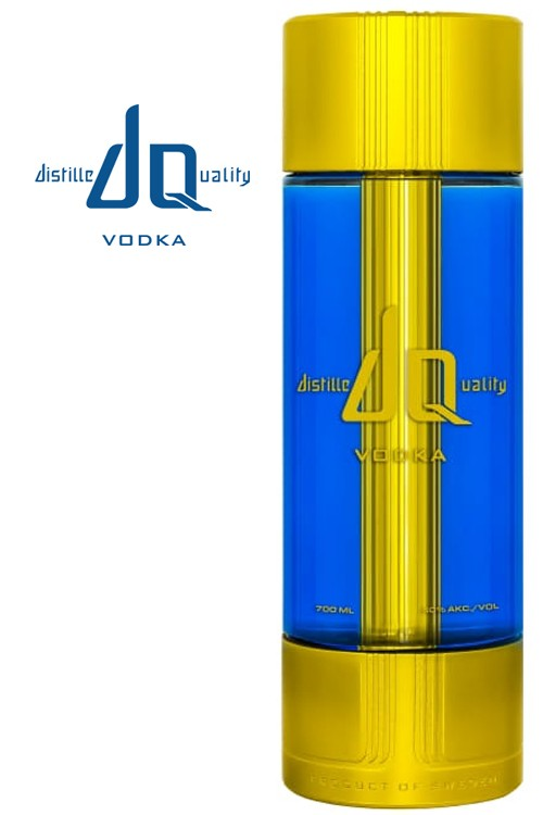DQ Gold Vodka - Limited Edition