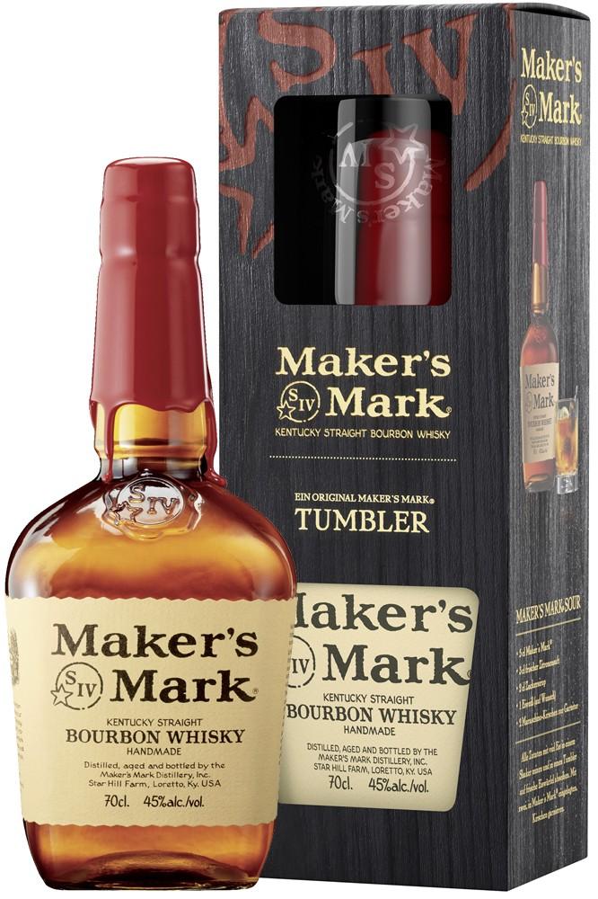 Maker's Mark Handmade Bourbon Geschenkset 2019