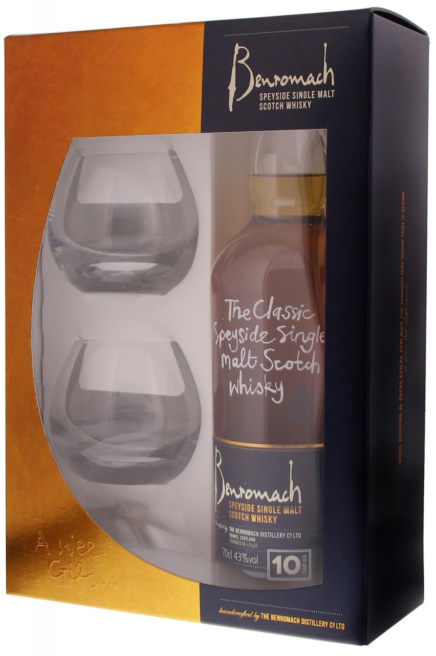 Benromach 10 Jahre Whisky Geschenkset