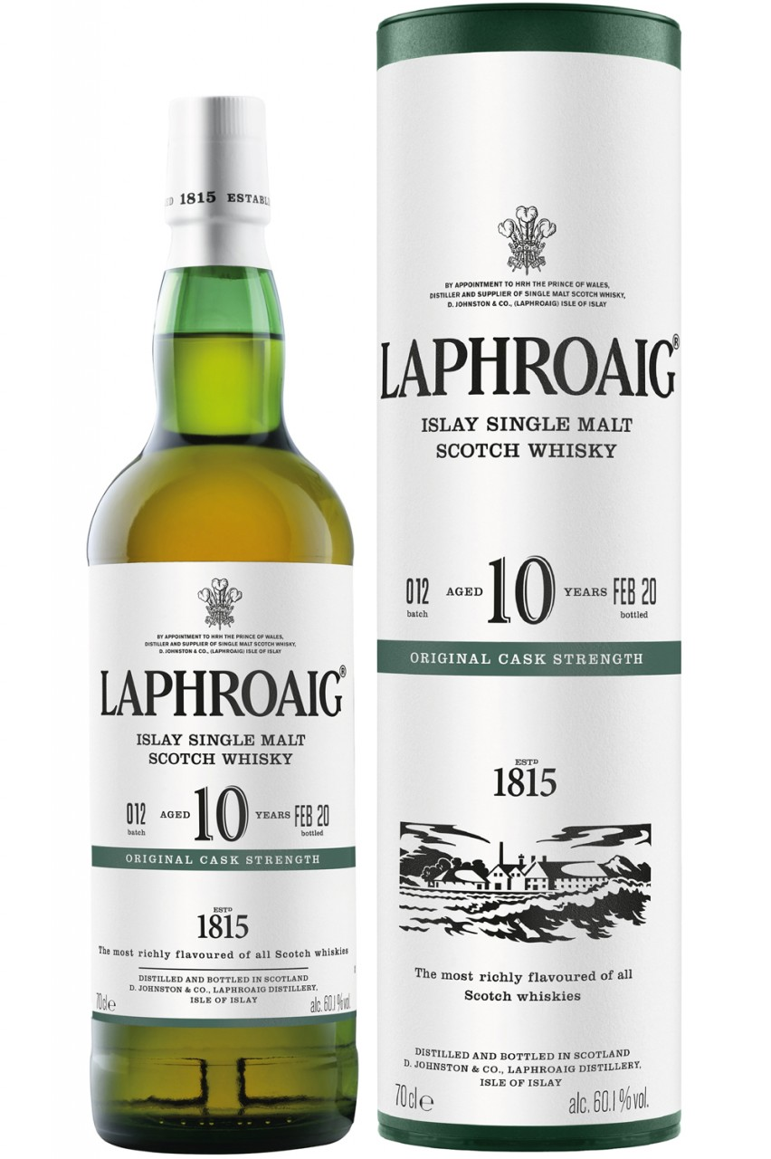 Laphroaig 10 Jahre - Cask Strength Edition