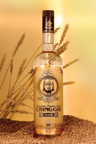 Chinggis Vodka Gold