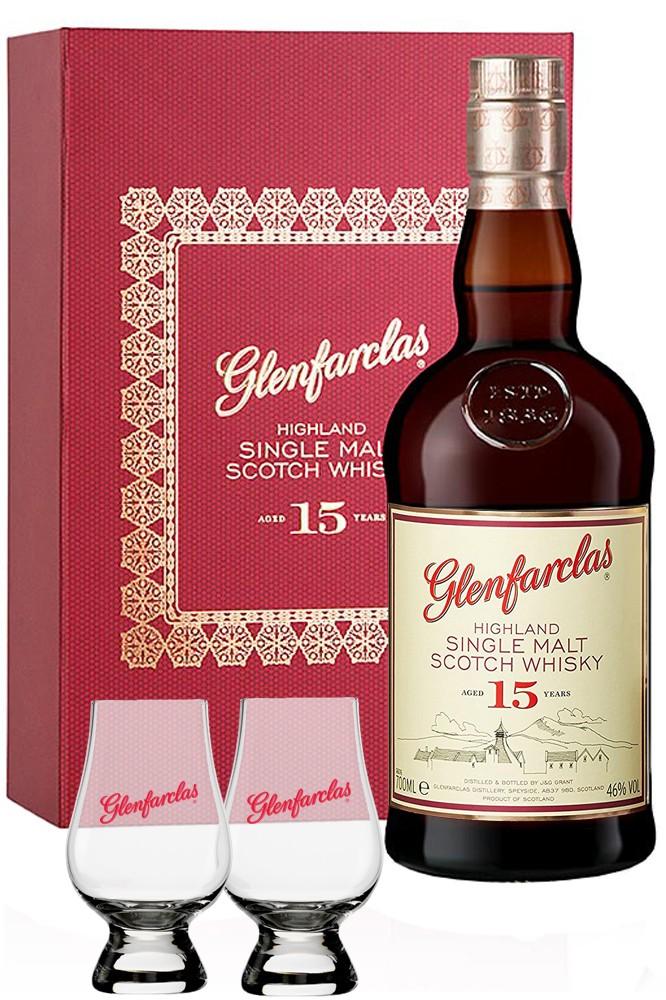 Glenfarclas 15 Jahre Geschenkset