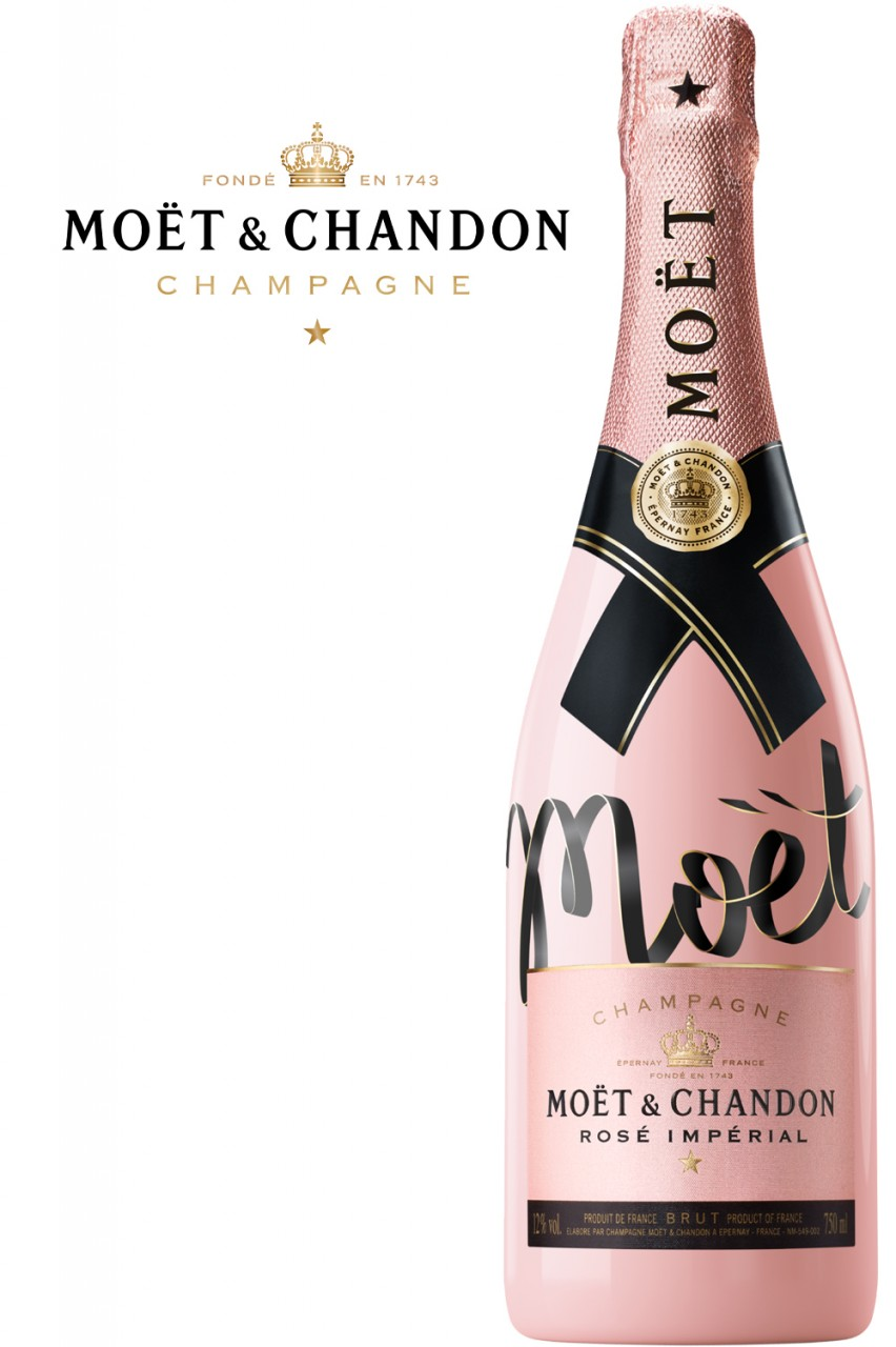 Moët & Chandon Rosé Imperial Champagner - Limited Edition