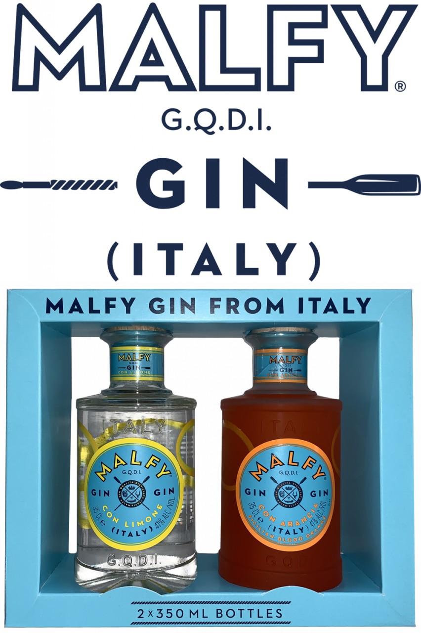 Malfy Gin Twinpack - Limone & Blood Orange