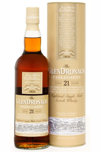 Glendronach Parliament 21 SIngle Malt Whisky