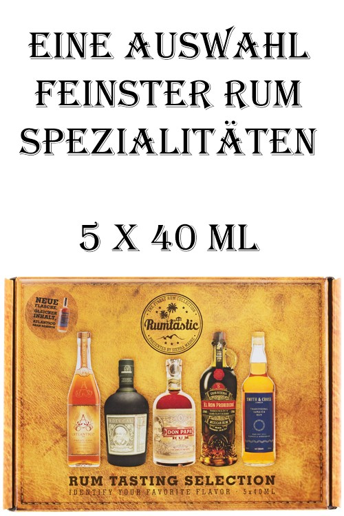 Rumtastic Rum Tasting Box