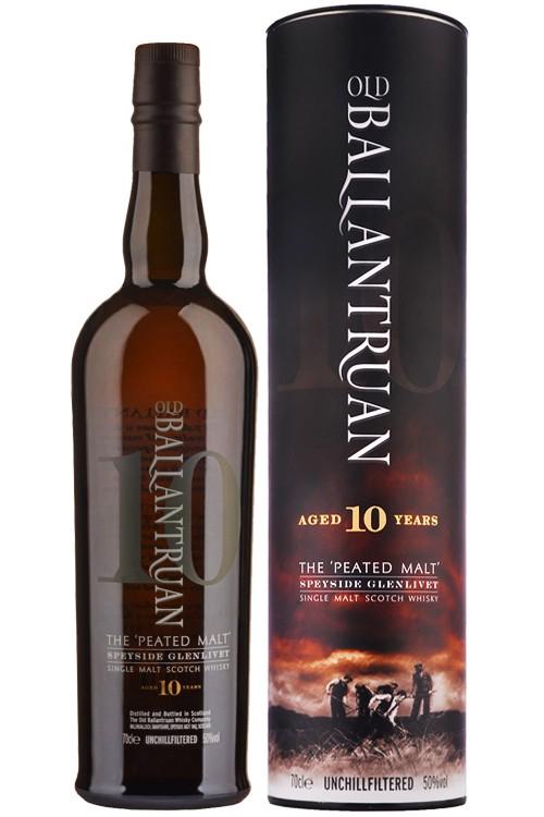 Old Ballantruan 10 Jahre - Peated Whisky - 50% Vol.