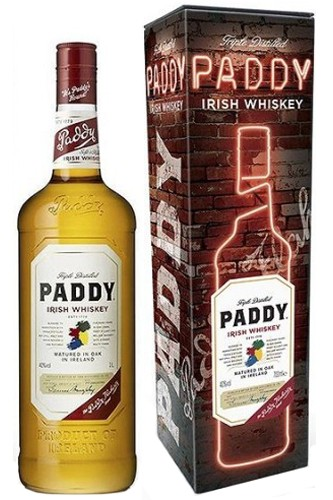 Paddy Whiskey in Metallbox
