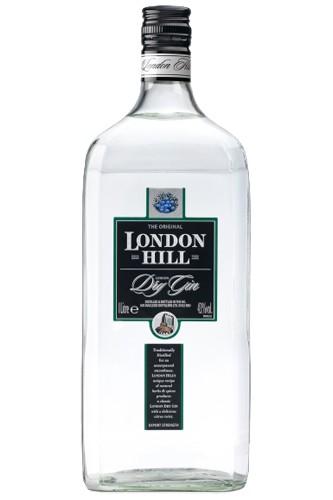London Hill Dry Gin - 1 Liter