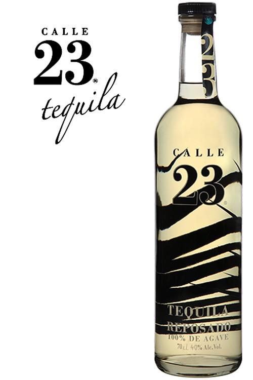 Calle 23 Reposado Tequila - 40% Vol.