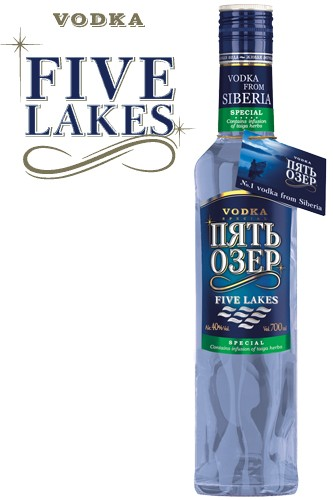 Five Lakes Special Vodka 700 ml