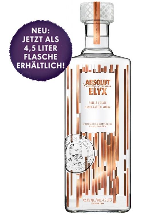 Absolut ELYX 4,5 Liter Flasche