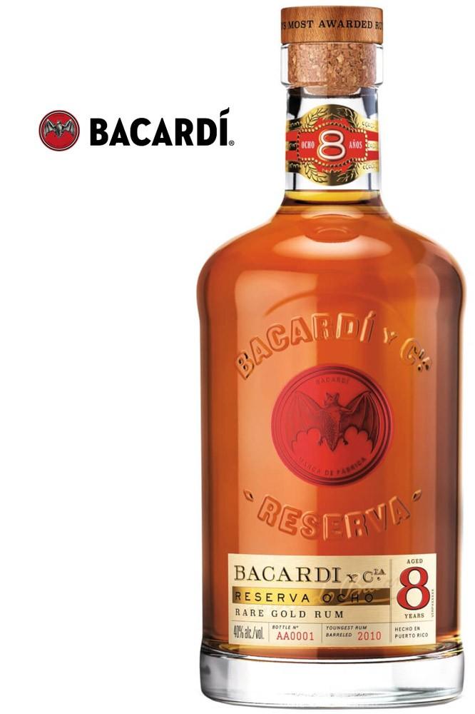 Bacardi 8 Jahre Rum - 1 Liter