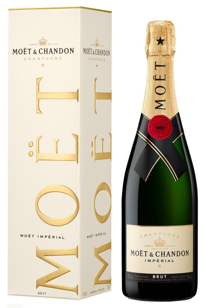 Moët & Chandon Brut Imperial Champagner in Geschenkbox