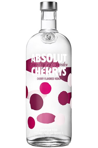 Absolut Cherrys Vodka - Kirsche - 1 Liter