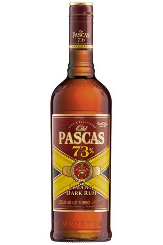 Old Pascs 73% Dark Jamaica Rum