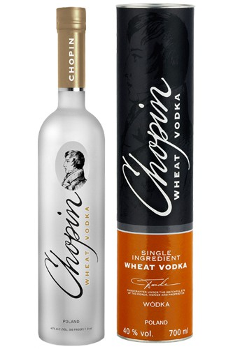 Chopin Wheat 0,7 l + Tube Vodka