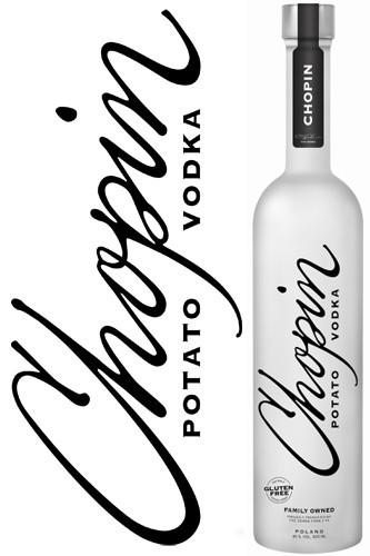 Chopin Black Potato Vodka - 700 ml
