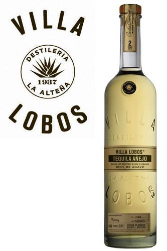Villa Lobos Anejo Tequila