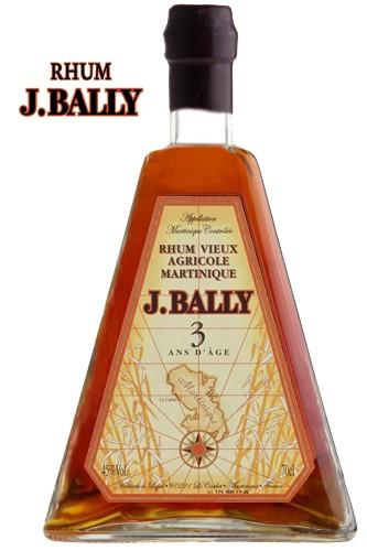 Rhum J. Bally 3 Jahre