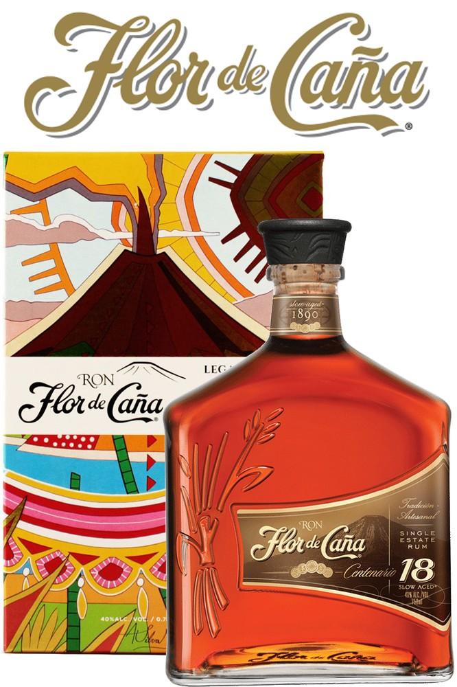 Flor de Cane 18 Jahre - Legacy Edition Rum