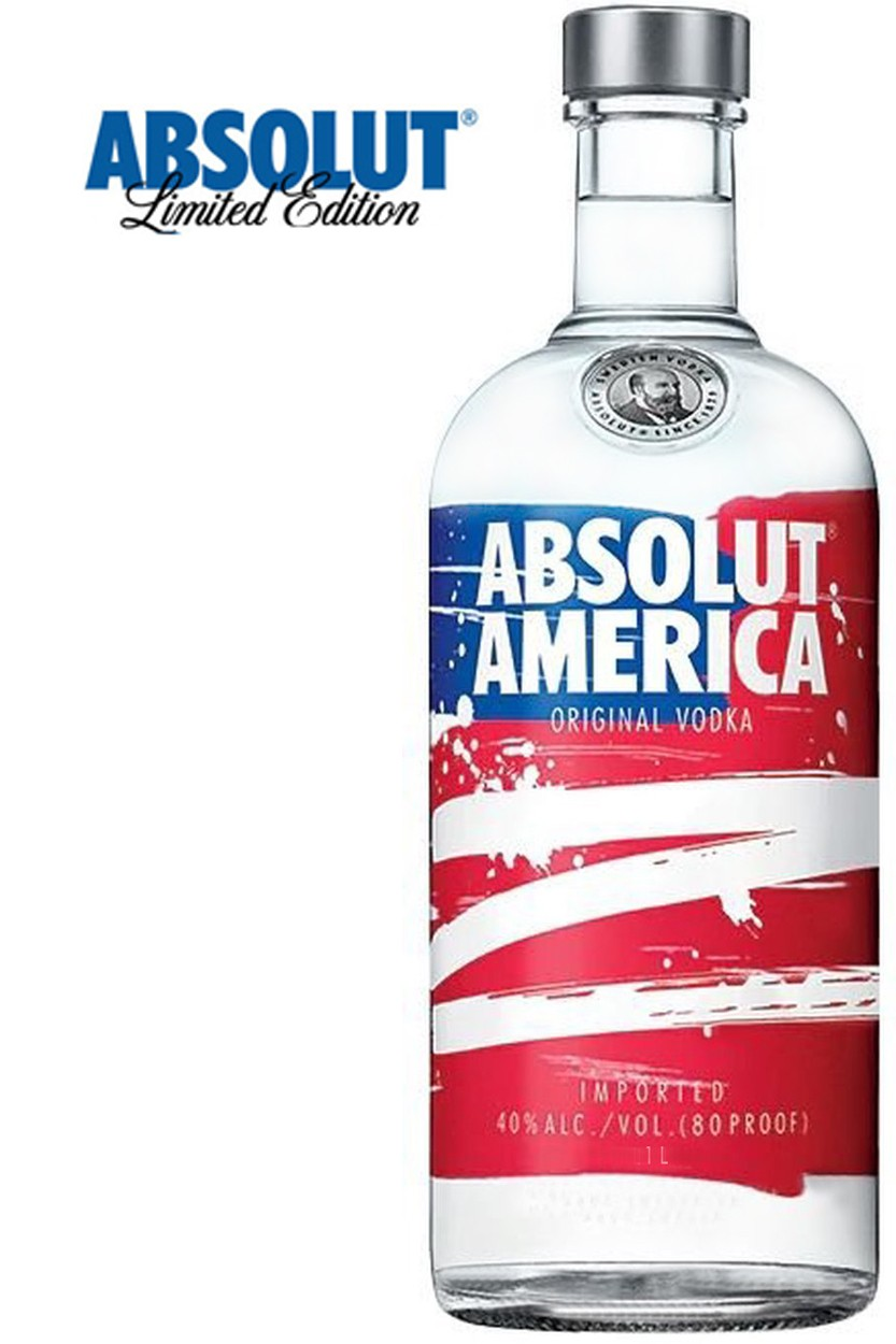 Absolut America Vodka - Limited Edition