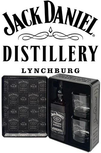 Jack Daniels Whiskey Geschenkbox