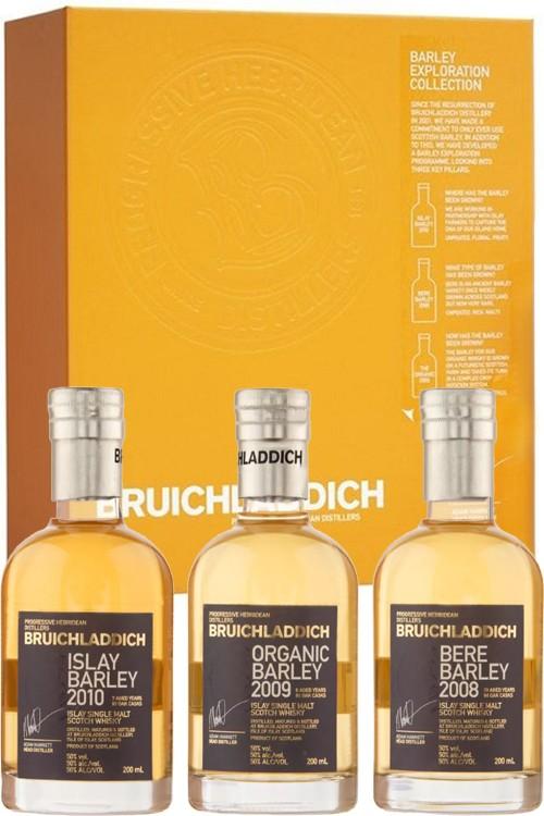 Bruichladdich Barley Exploration Pack