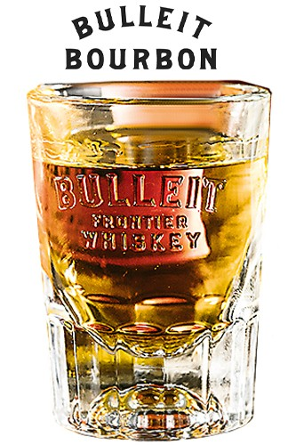 Bulleit Whiskey Glas