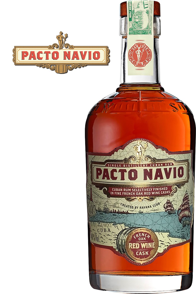 Havana Club Pacto Navio - Red Wine Cask