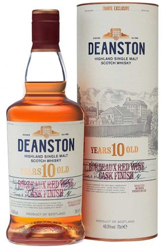 Deanston 10 Jahre Bordeaux Red Wine Cask Finish