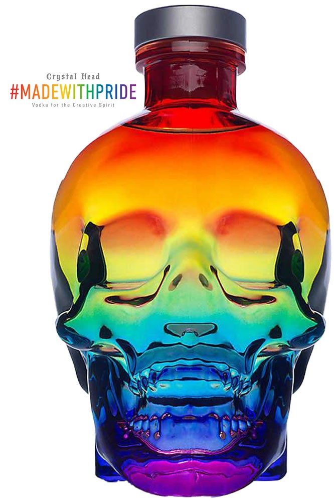 Crystal Head Vodka - Pride Limited Edition