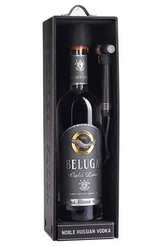 Beluga-Gold-Leder-Edition-Vodka