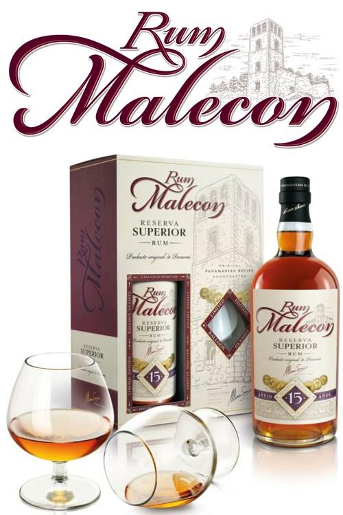 Malecon 15 Jahre Rum Geschenkset