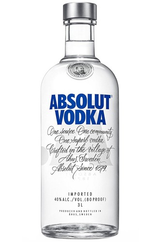Absolut Blue 3 Liter Vodka