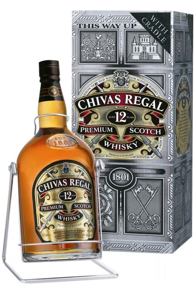 Chivas Regal 12 Jahre - 4,5 Liter