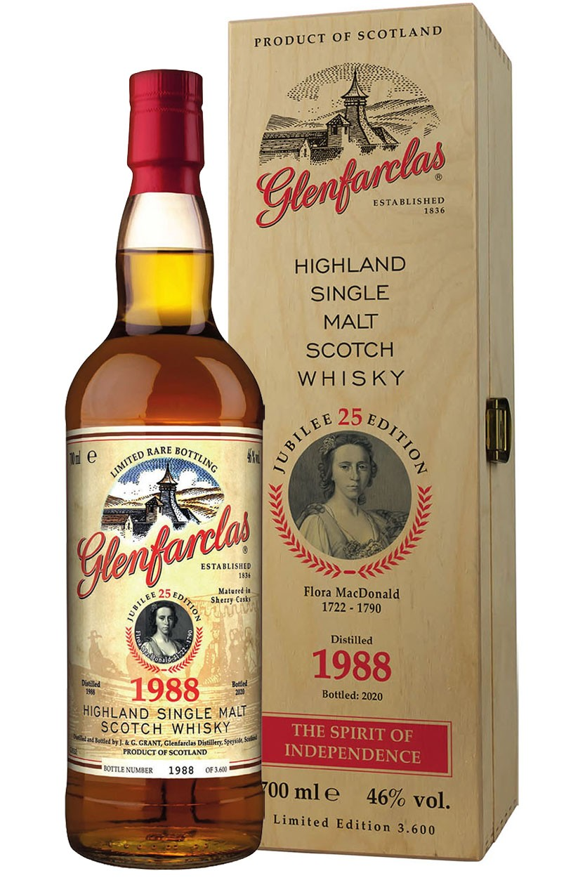 Glenfarclas Edition 25 - Flora MacDonald - 1988
