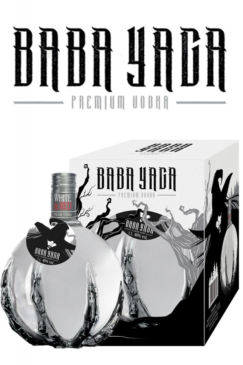 Baba Yaga Vodka mit Geschenkbox