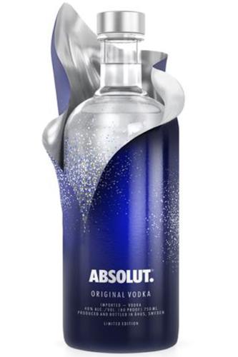 absolut uncover vodka 1 liter limited edition vodka haus. Black Bedroom Furniture Sets. Home Design Ideas