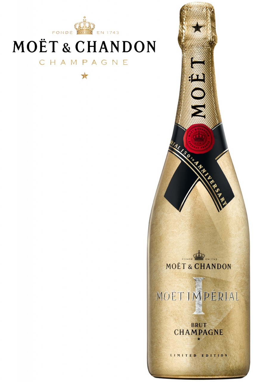 Moët & Chandon Brut Imperial Champagner - 150th Anniversary