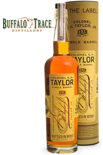 E.H. Taylor Singel Barrel Bourbon - 50% Vol.
