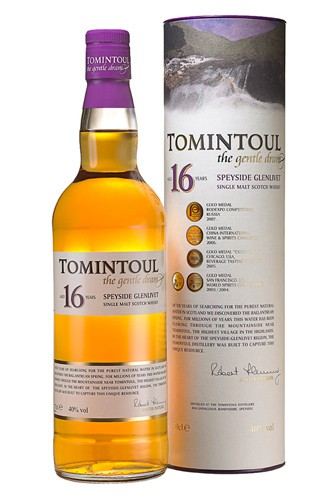 Tomintoul 16 Jahre Whisky