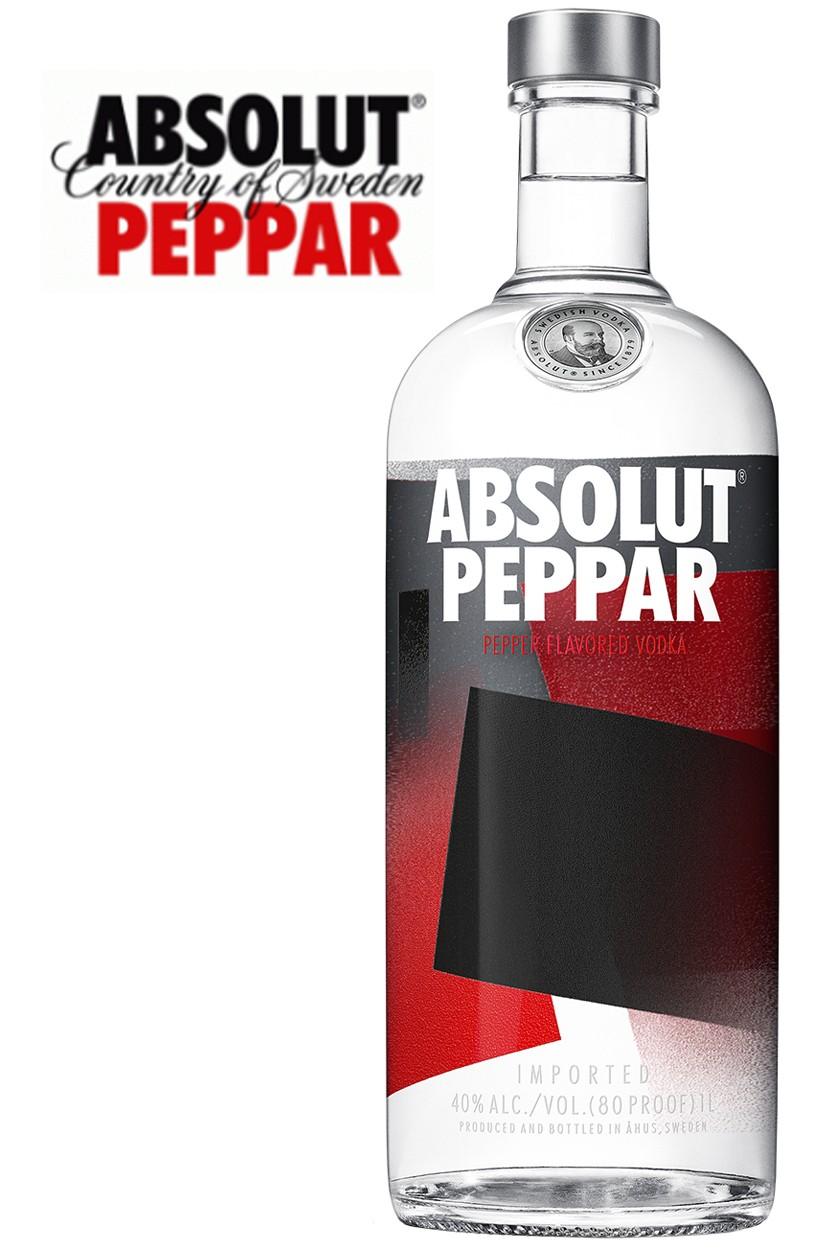 Absolut Peppar Vodka 1 Liter
